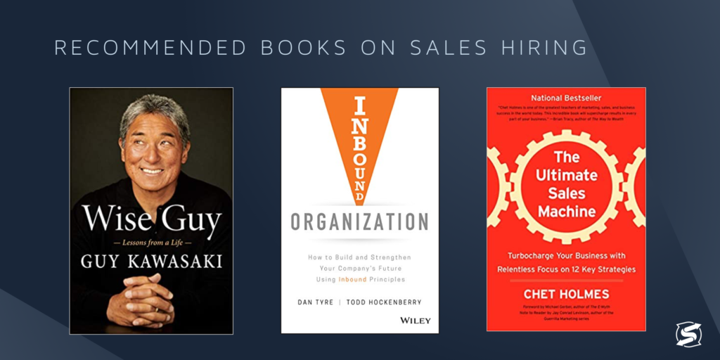 Recommended books on sales hiring